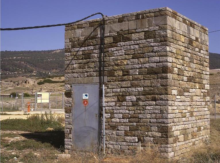Centro de transformación de electricidad
