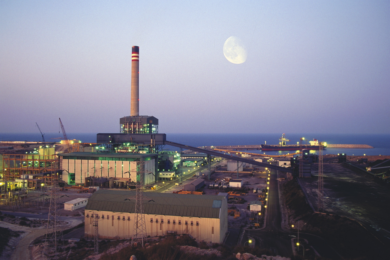 La central térmica convencional Litoral, en Carboneras