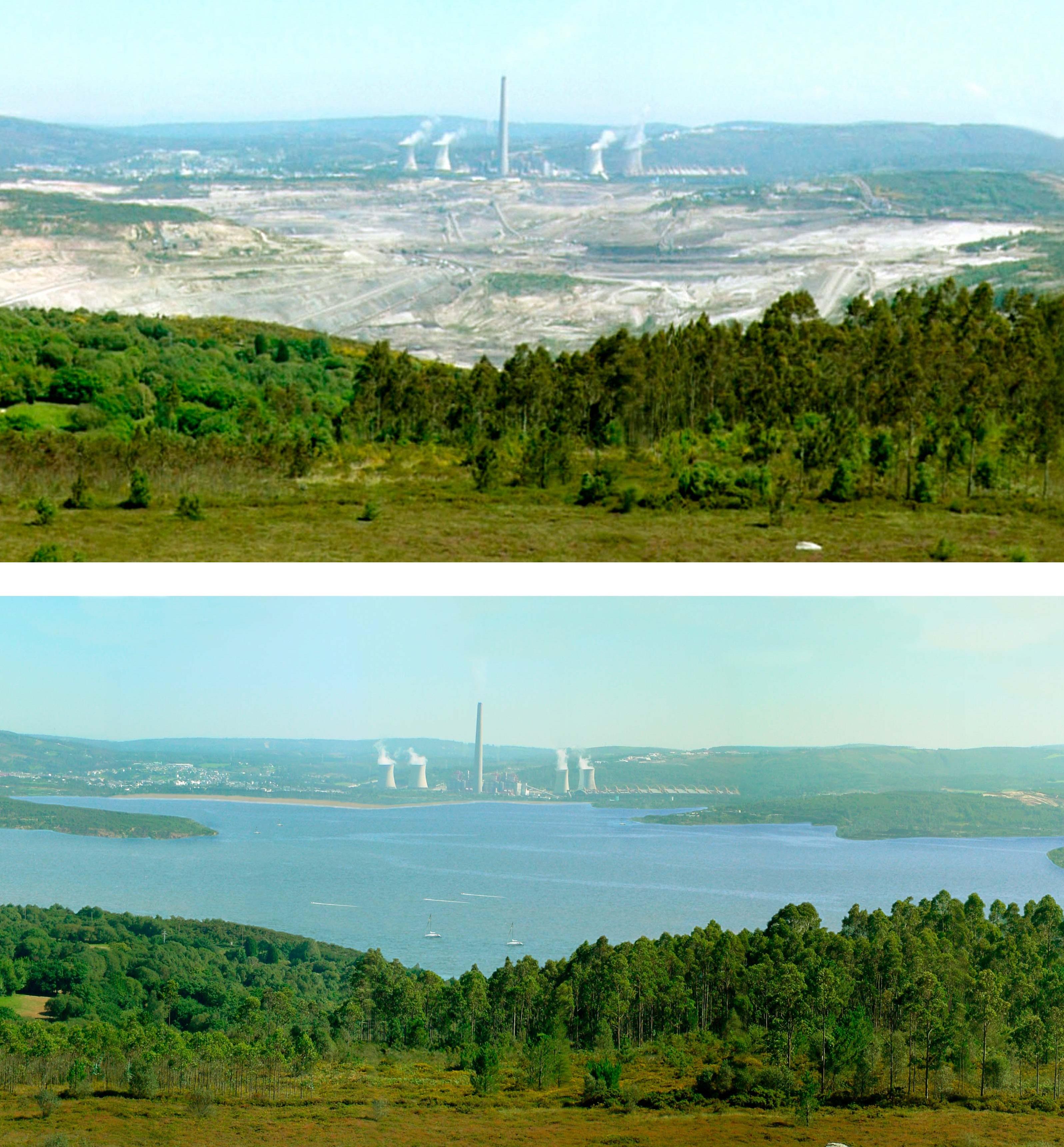 De mina a lago, actividad online sobre el lago de As Pontes